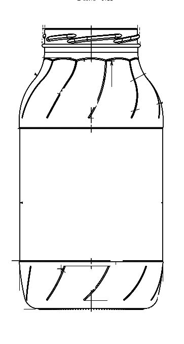 Стеклобанка типа III-82-1850  Украина