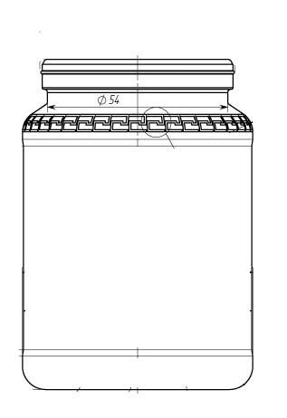 Стеклобанка типа I-58-250