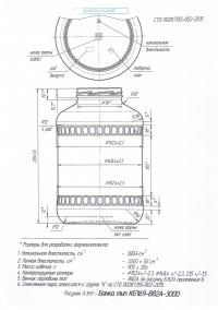Стеклобанка типа III-82-3000