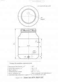 Стеклобанка типа III-66-500