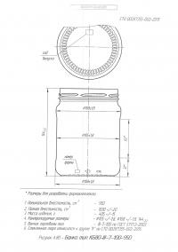 Стеклобанка типа III-100-950